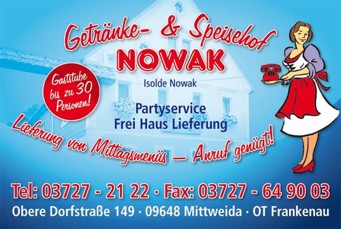 Partyservice und Lieferung bei Speisehof Nowak.