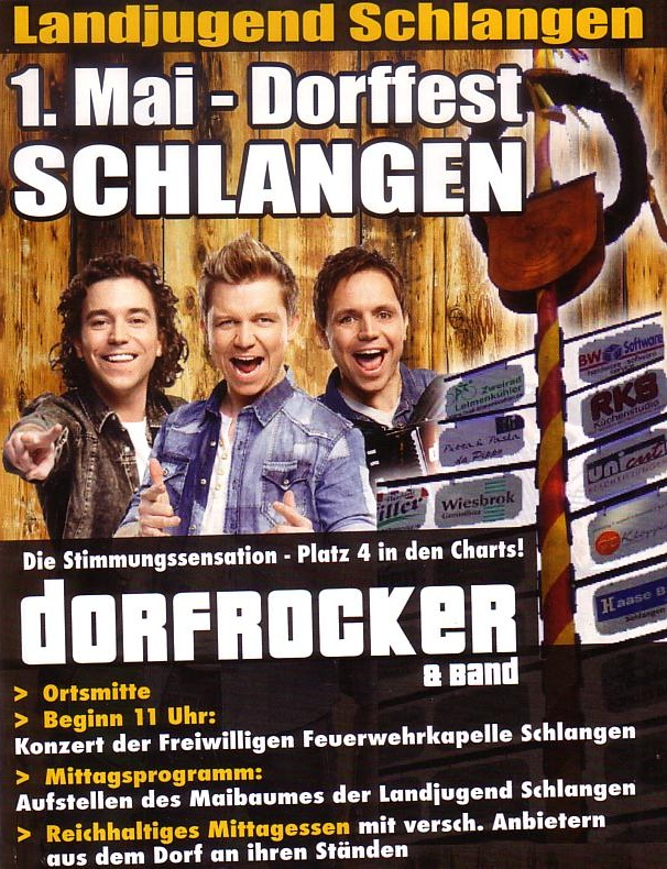 Die Dorfrocker in Schlangen