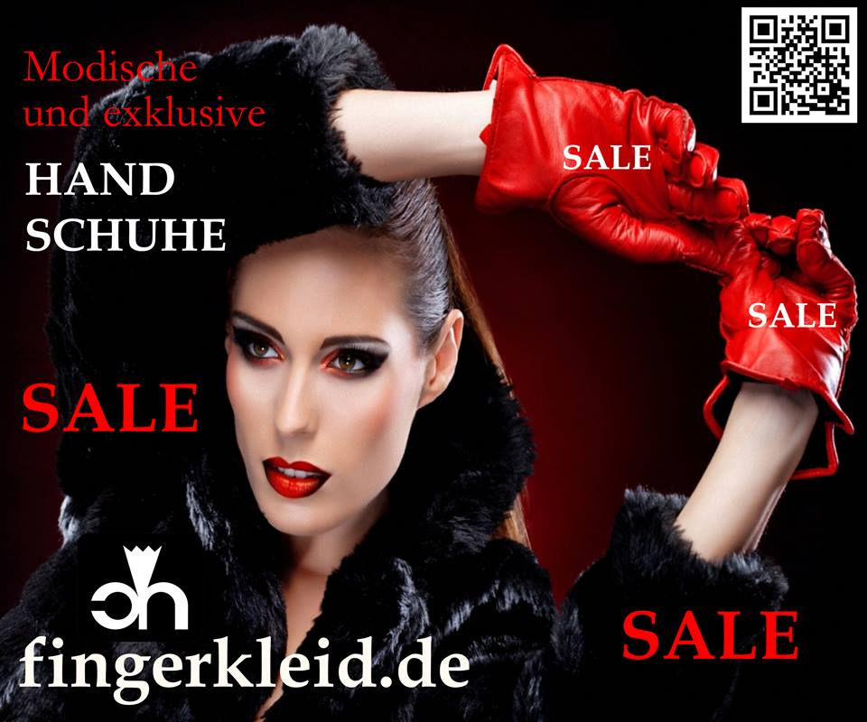 Fingerkleid - Fashionable and Exclusive leather gloves