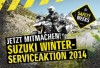 Suzuki Winter-Serviceaktion 2014 bei 2Rad-Knoblauch