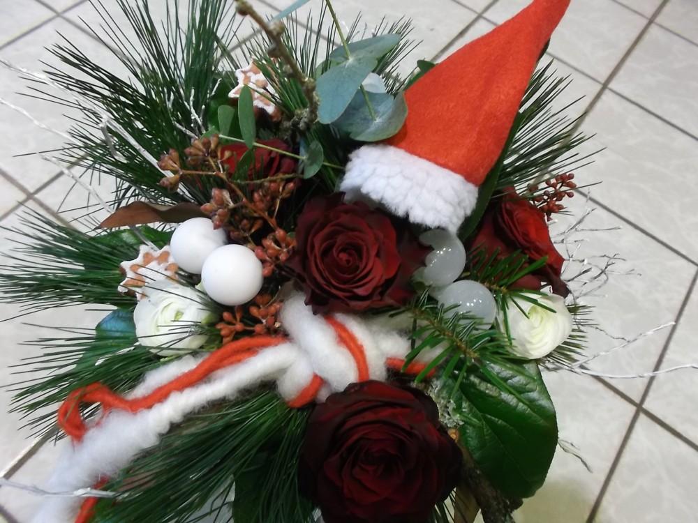 weihnachtliche floristik. Black Bedroom Furniture Sets. Home Design Ideas