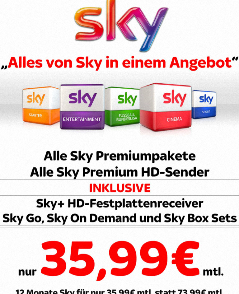Sky Komplett Angebote Für Bestandskunden