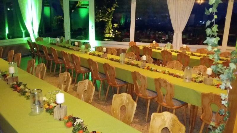 Restaurant Bauerkamp in Schlangen - Großer Saal