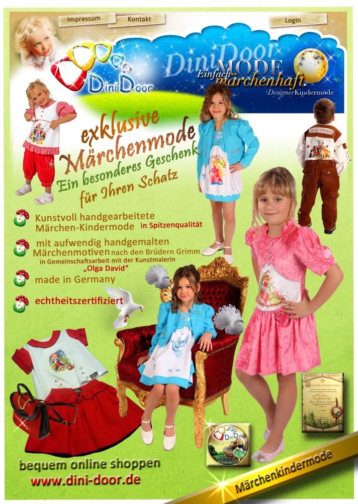 pretty nice 5adb7 64916 Süße Märchenkindermode von Dini Door-made in Germany