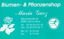 Blumen- und Pflanzenshop Maria Garz