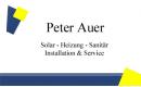 Peter Auer | Solar-Heizung-Sanitär