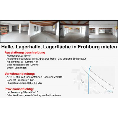 Entwurf Expose Halle 1 180 m²
