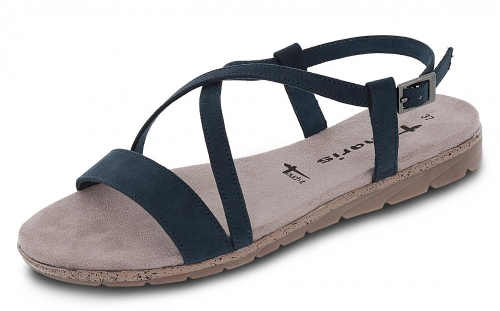 tamaris sandale blau 2017