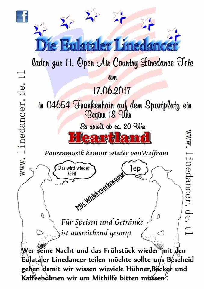 Linedancer Party in Frankenhain am 17.06.