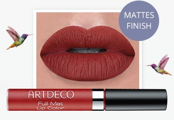 NEU  ARTDECO FULL MATT LIP COLOR  Long-Lasting in 6 Farben