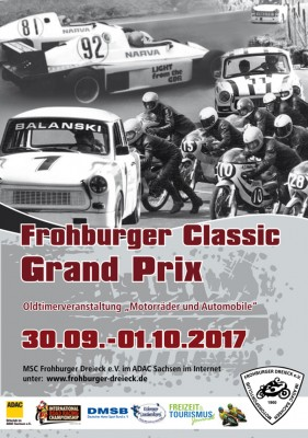 Frohburger Classic Grand Prix 30.09.-01.10.2017