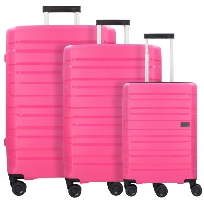 Polypropylen Kofferset 3-tlg in Pink - von travelite