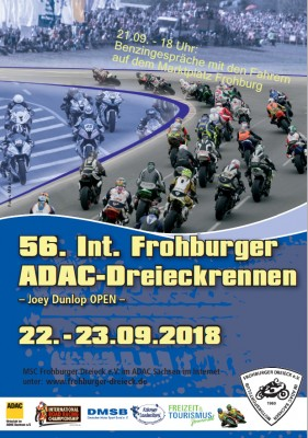 22.-23.September:  Int. Frohburger ADAC Dreieckrennen