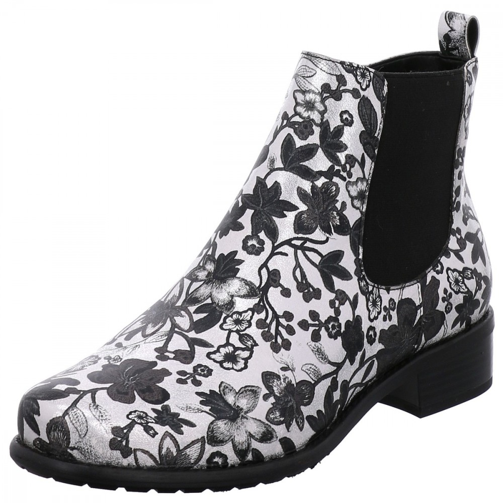GERRY WEBER CHELSEA BOOTS / STIEFELETTE CALLA 10 SILBER