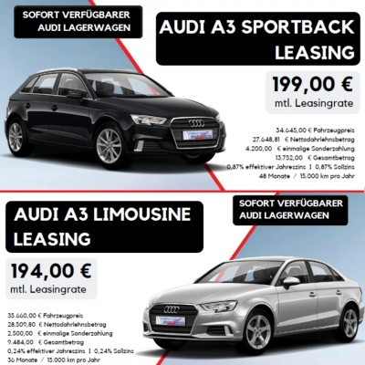 Audi Privatkundenleasing - Angebote