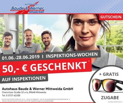 01.06.-28.06.2019 Inspektions-Wochen