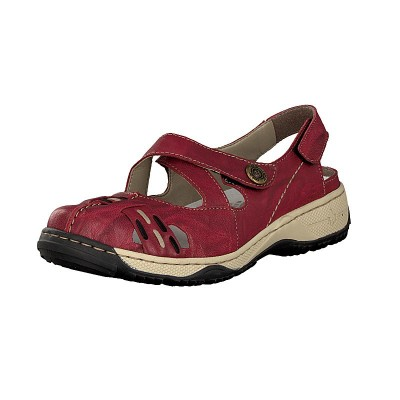 Rieker Damen Slipper rot 47478-35 im Midsommer SALE