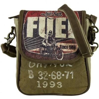 SALE - Vintage Tasche Messenger Umhängetasche - SALE