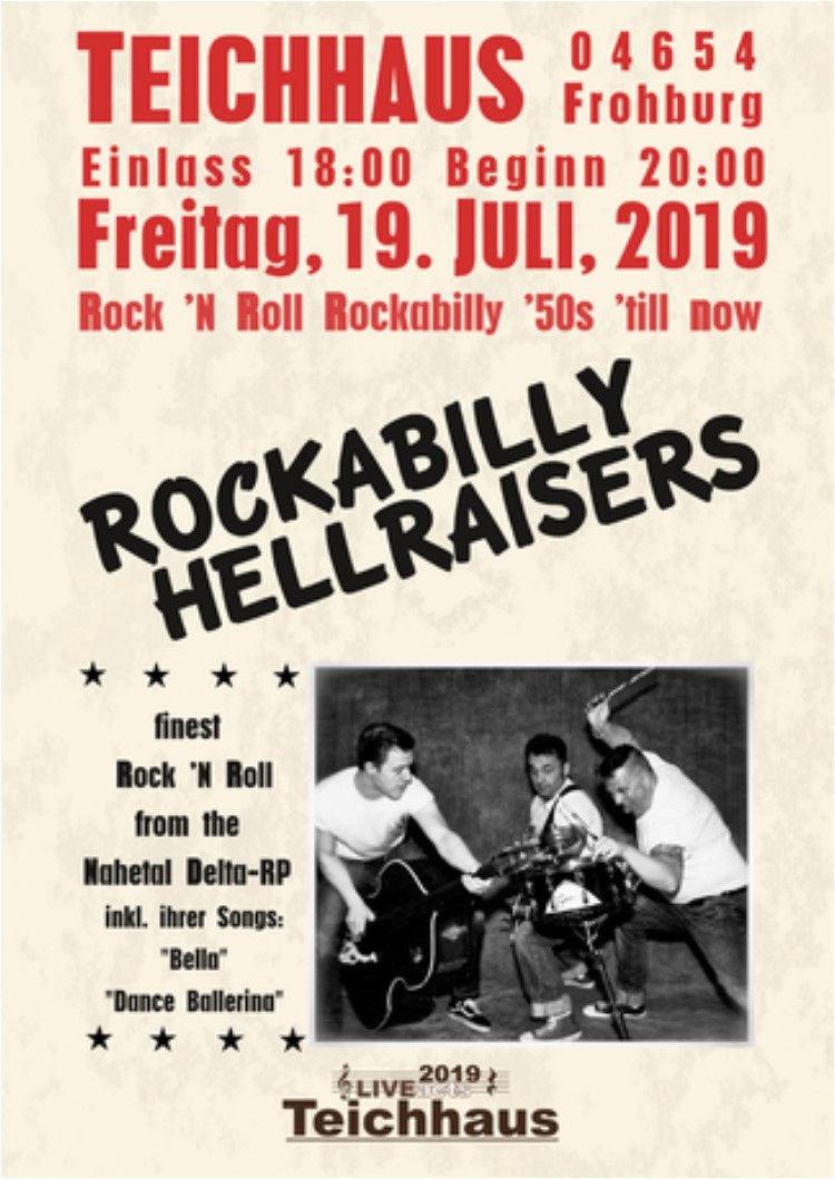 Live Act Teichhaus Rockabilly Hellraisers