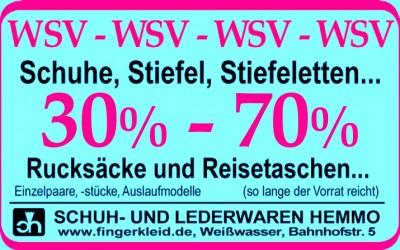 WSV - Winter-Spar-Vergnügen - SALE - Schuhe & Taschen - WSV
